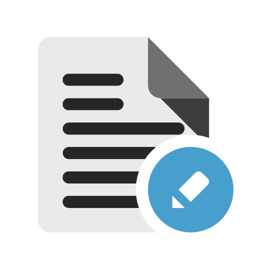 Amendment application Icon
