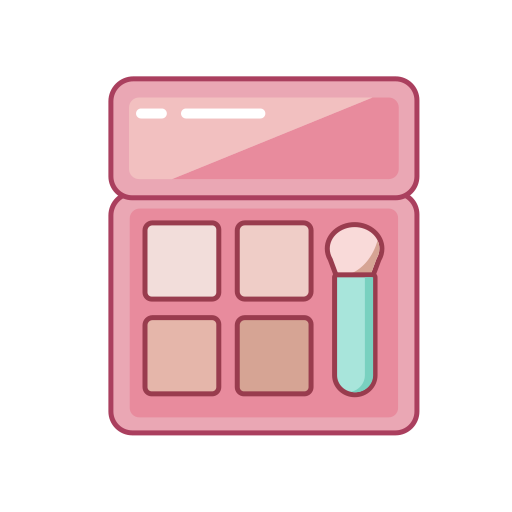 Combination of beauty and thread Icon