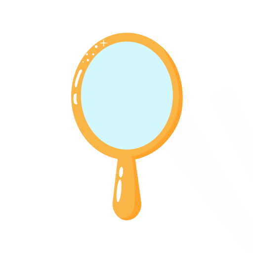 Cosmetic mirror Icon