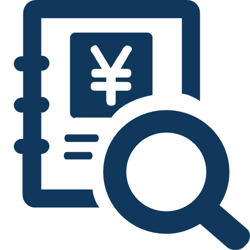 Account book information query Icon