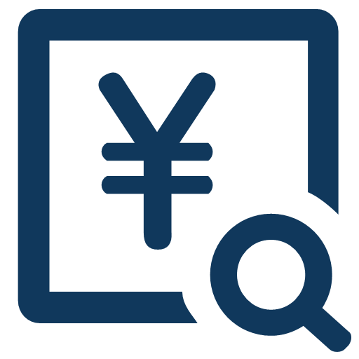Security fund account balance query Icon