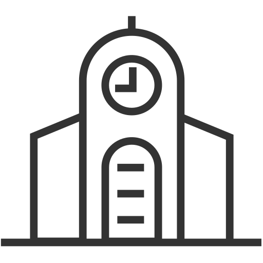 Architecture - Church Icon