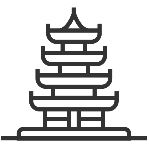 Architecture - Drum Tower Icon
