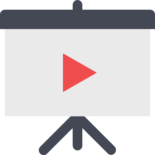 presentation-video Icon