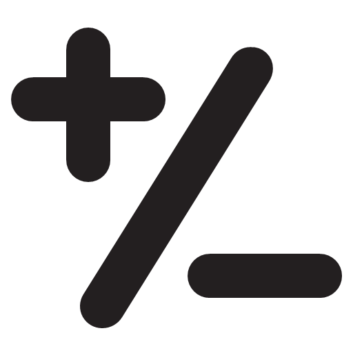 plus-minus Icon