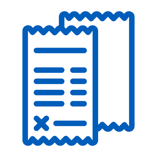wd-accent-receipt Icon