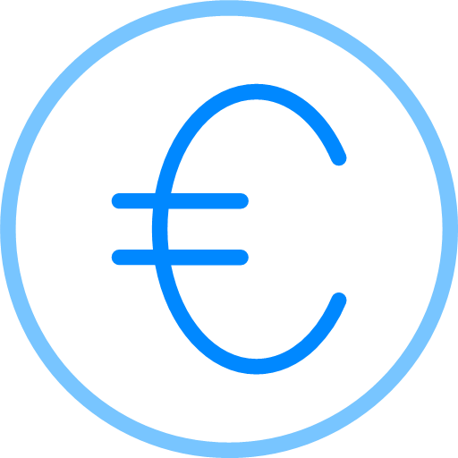 Financial coins Icon