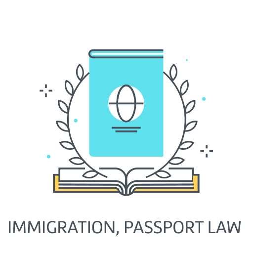 Immigration Passport Law Icon