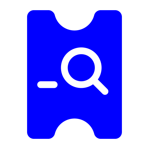 Ticket checking Icon