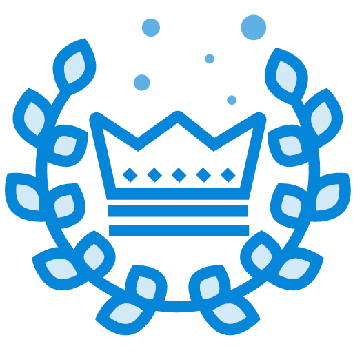 Crown, badge, honor Icon