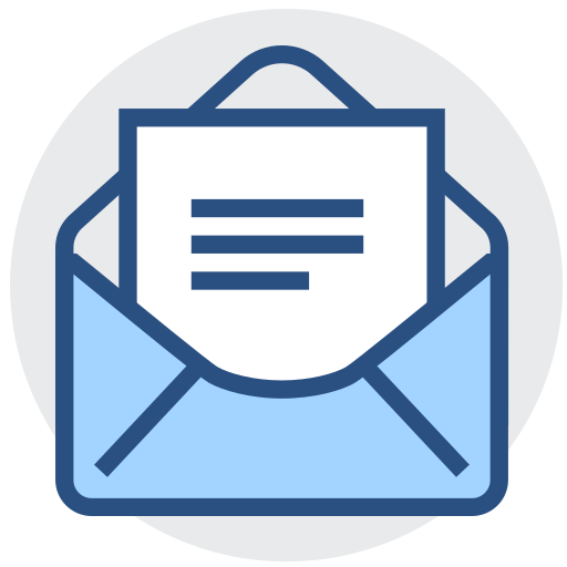 Mail, email, email, receipt Icon