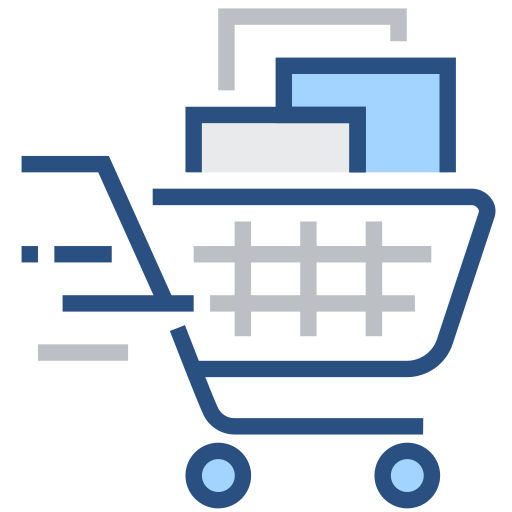 Shopping, discount, promotion, purchase, shopping cart Icon