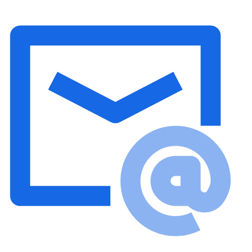 Mail group create application process Icon