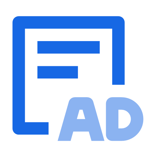 Special ad domain account application process Icon