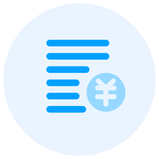 Accounting form Icon