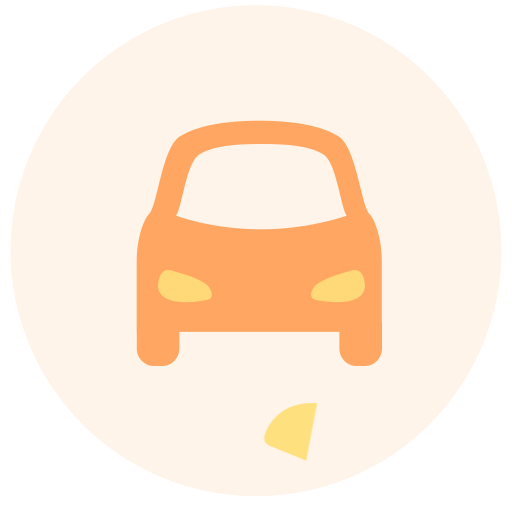 Traffic expense Icon