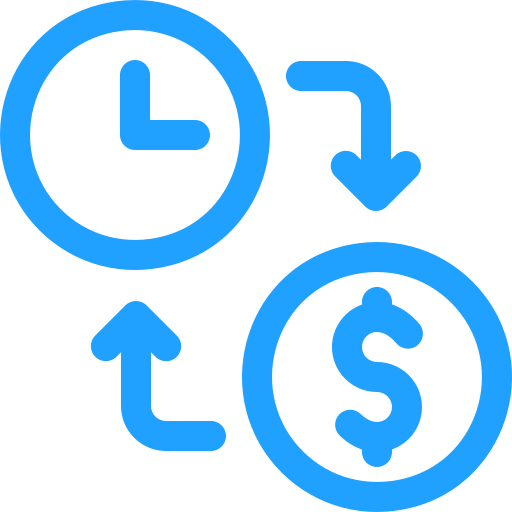 time-is-money Icon