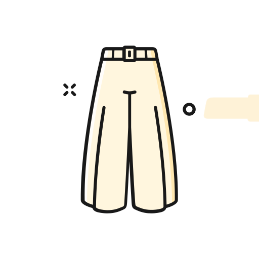 15_ wide leg pants Icon
