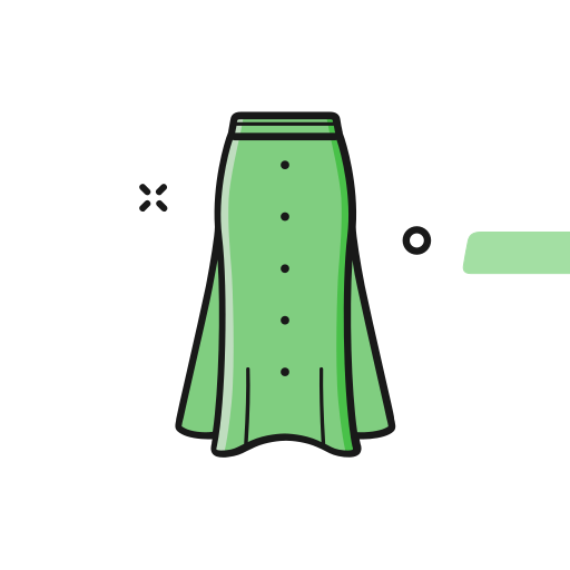 16_ long skirt Icon