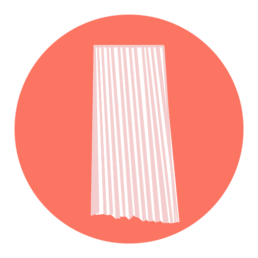 Pleated skirt Icon