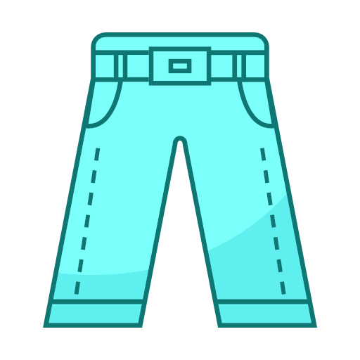 Straight pants Icon