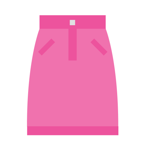 Pink skirt Icon