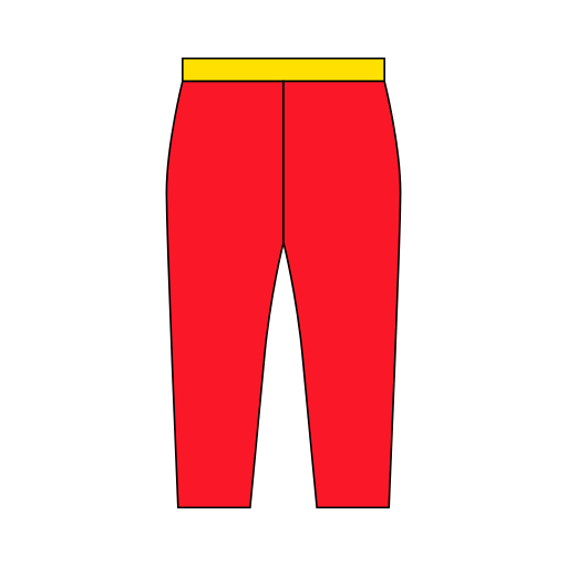Cropped Trousers Icon