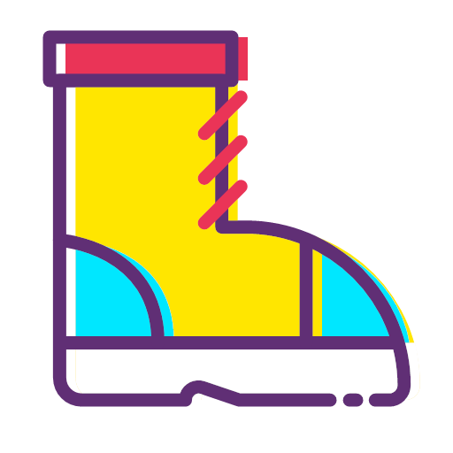 Clothes and boots Icon