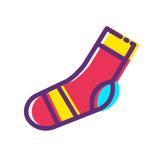 Clothes and socks Icon