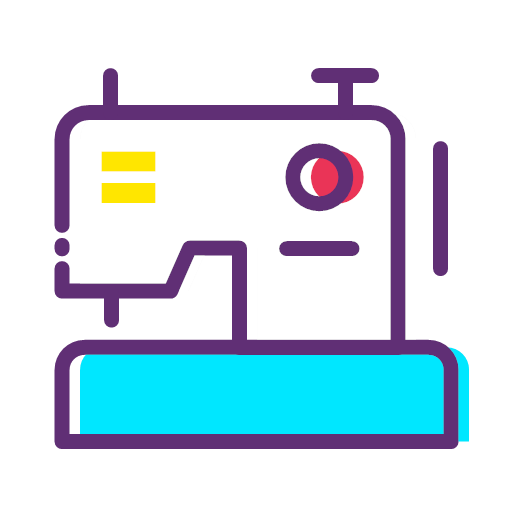 Clothing sewing machine Icon
