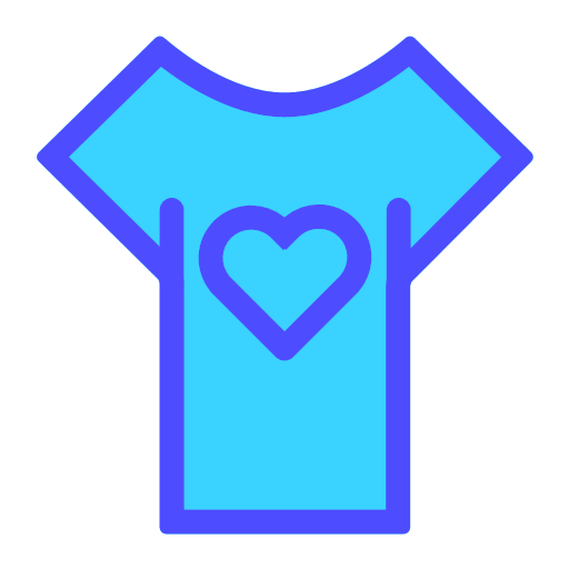 Clothing - Lovers - multicolored thread Icon