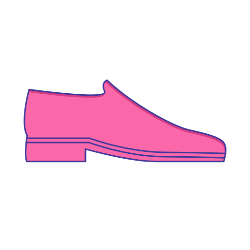 Loading clothing leather shoes Icon