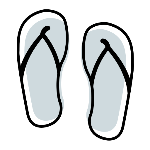 18 slippers Icon