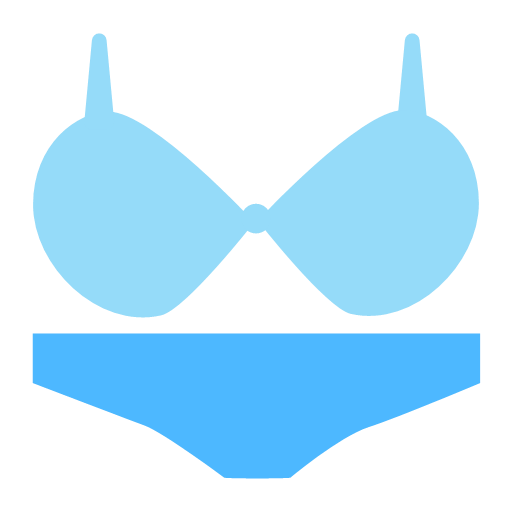 Multi color facial - underwear Icon