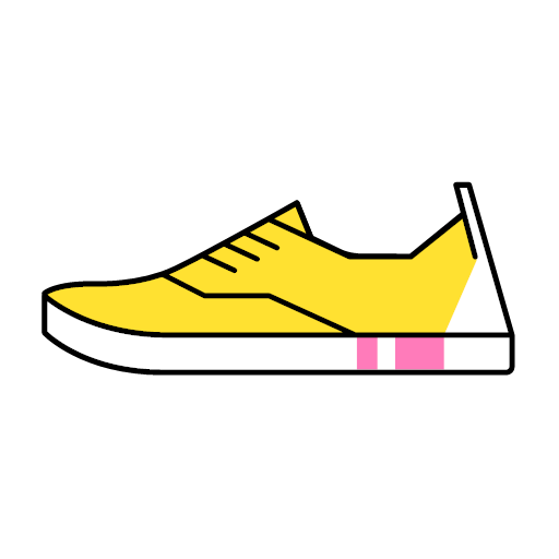 Canvas shoe Icon