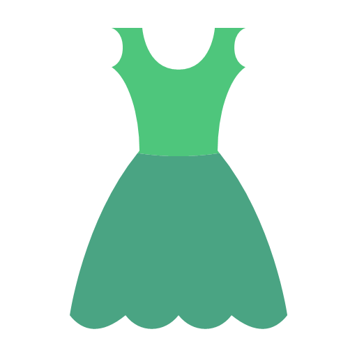 green-dress Icon