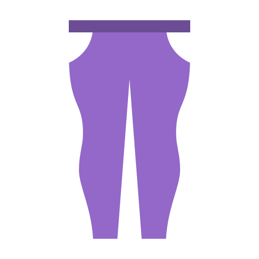 purple-fitted-pants Icon