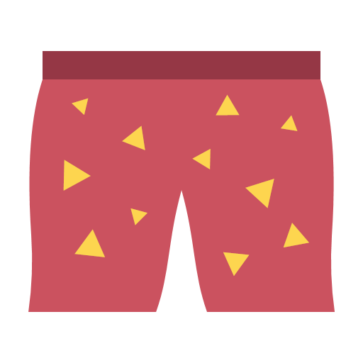 red-snazzy-shorts Icon