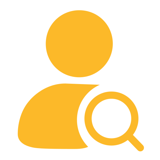 Administrator user query Icon