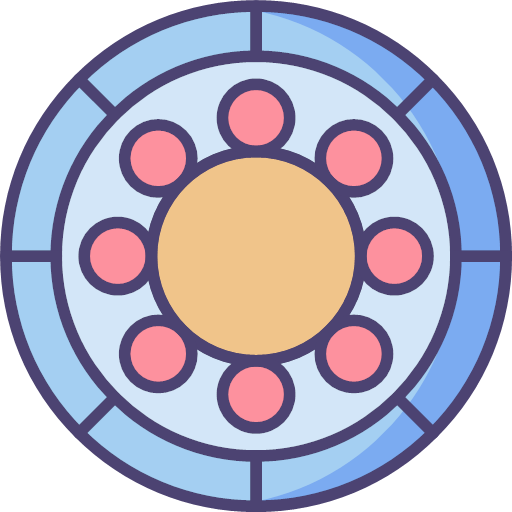 Ball bearing Icon