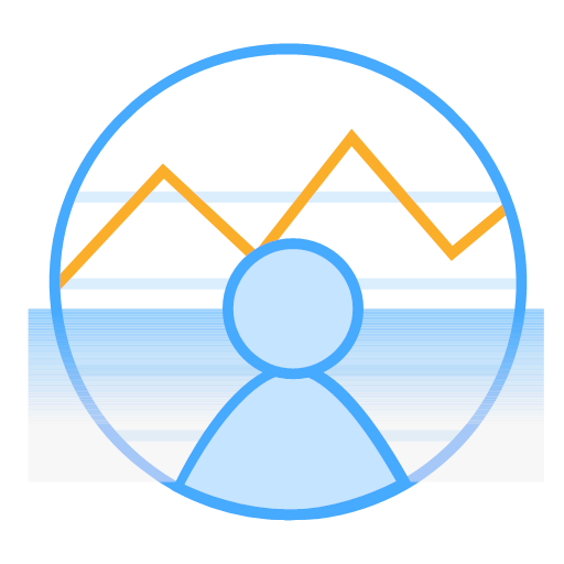 Icon? Personal behavior activity monitoring Icon