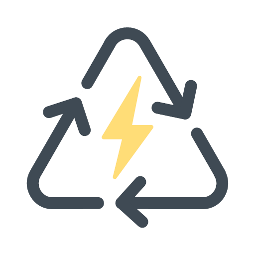 Recycling Energy Icon