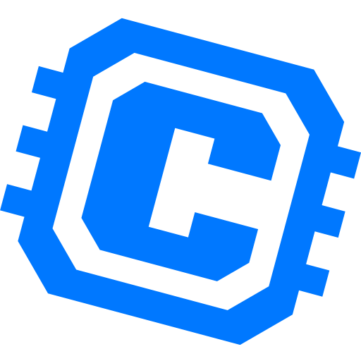 Computing Platform-blue Icon