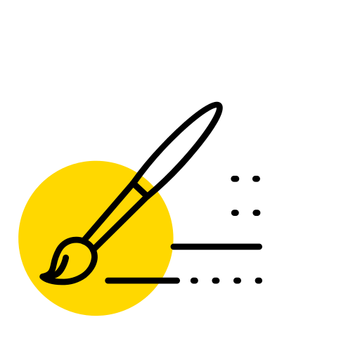 Writing brush Icon