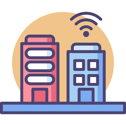 Smart Buildings Icon