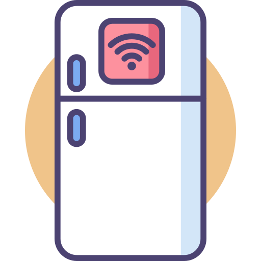 Smart Fridge Icon