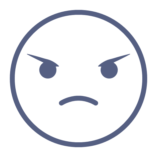 Angry expression Icon