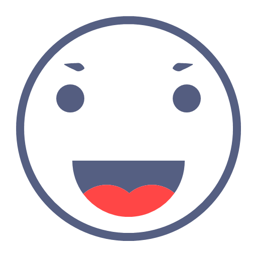 Happy expression Icon