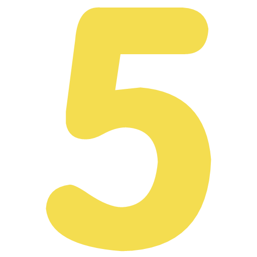 5 yellow Icon