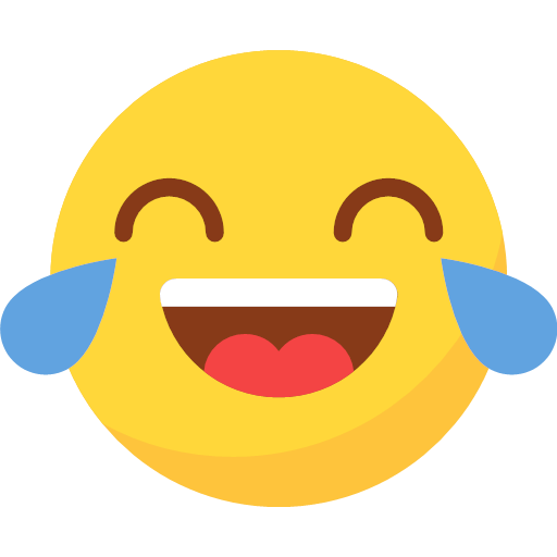 Laugh tears Icon
